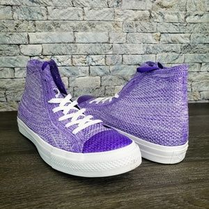 🍇 Converse Chuck Taylor All Star Hi Hyper Grape
